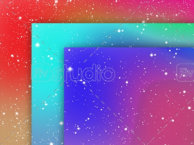 Colorful Space Background Image